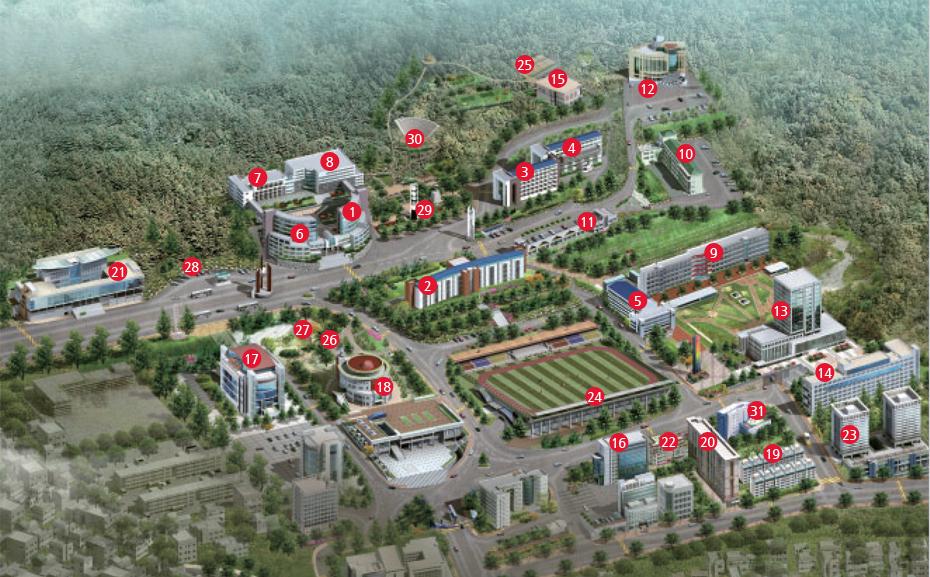 Maps Dongseo University Asp