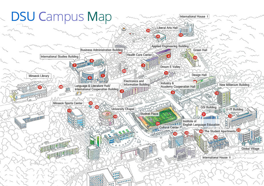 Main Campus Locations About Dongseo University